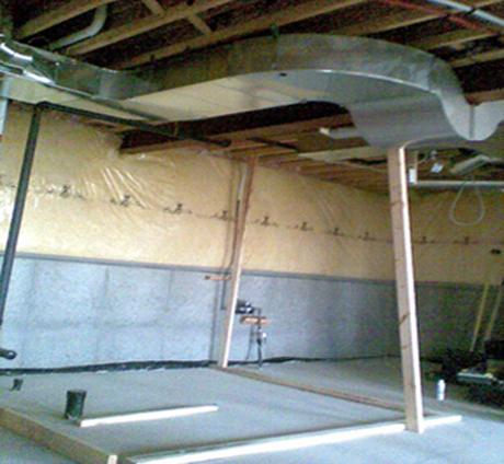 Basement renovation befor- 3